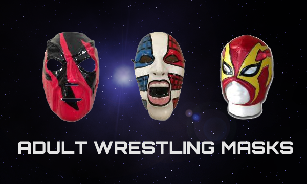 Adult wrestlign masks for sale