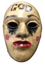 The Purge Anarchy - God Deluxe Fibreglass Mask Halloween Cosplay