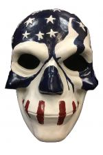 The Purge USA Deluxe Fibreglass Halloween Cosplay Mask