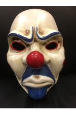 Joker Bank Robber Clown Mask - Batman Dark Knight Cosplay Fancy