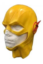 Flash - Reverse Yellow Marvel Mask Cosplay Dress Up