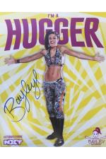 Bayley Hand Signed Poster