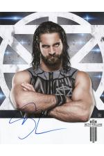 Seth Rollins hand signed autograph 11x14 inch poster