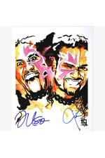 The Usos Hand Signed Offical Poster 11x14 Inch