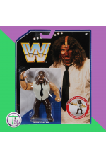 Mankind wwe retro series 2 action wrestling figure