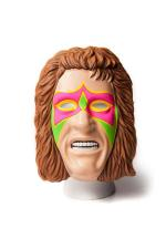 Ultimate Warrior WWE Replica 80's Style Mask Fancy Dress