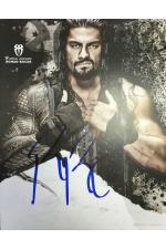 Roman Reigns Hand Signed Picture