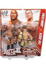 The Rock vs John Cena Battlepack 24