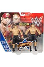 John Cena vs Brock Lesnar Summerslam Battlepack