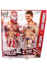 Sin Cara vs Cody Rhodes Battlepack Series 23