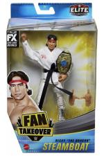 Ricky the dragon steamboat - fan takeover elite wrestling figure