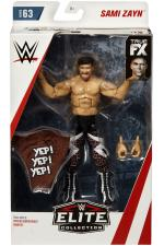 Sami Zayn elite series 63 wrestling figures with accessories
