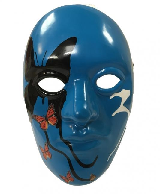 Johnny 3 Tears Butterfly - Hollywood Undead Mask Album Band Cosp