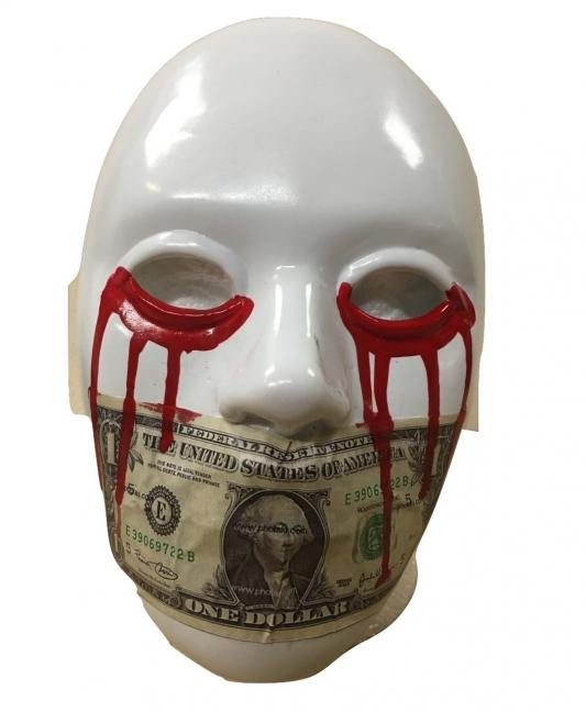 J Dog Dollar Mouth - Hollywood Undead Mask Album Band Cosplay Fa