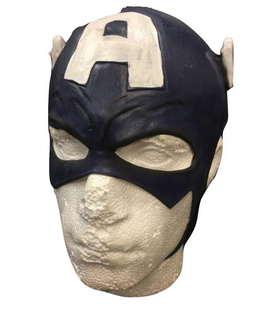 Captain America - Marvels Movie Cosplay Style Mask