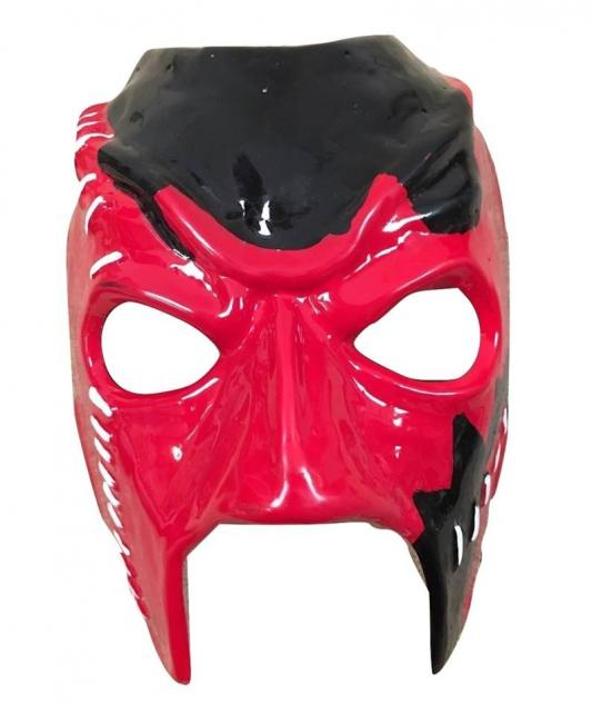 Kane Stitch Mask WWE Wrestling Fancy Dress Up Mask