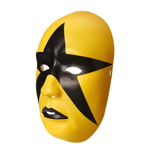 Stardust Gold Face Mask WWE Style Cosplay Fancy Dress