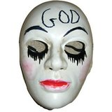 The Purge Anarchy - God Mask Halloween Cosplay Hard Plastic