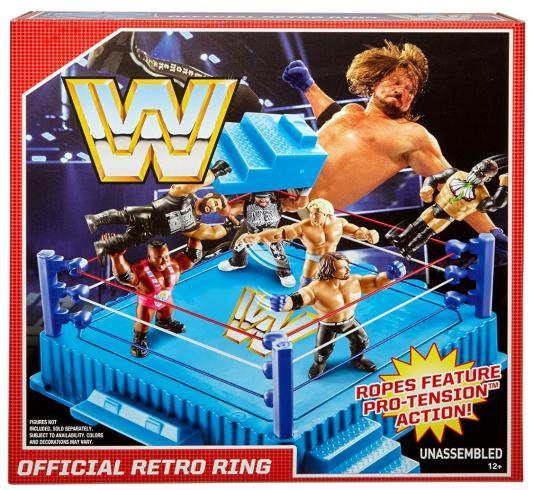 WWE RETRO WRESTLING FIGURE RING OFFICIAL !