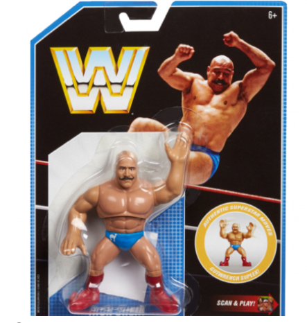 Iron Sheik wwe retro series 8