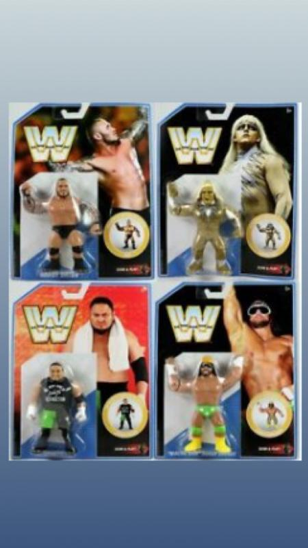 FULL SET - wwe retro series 9