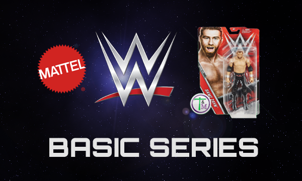 WWE Wrestling figures by Mattel Basic Series