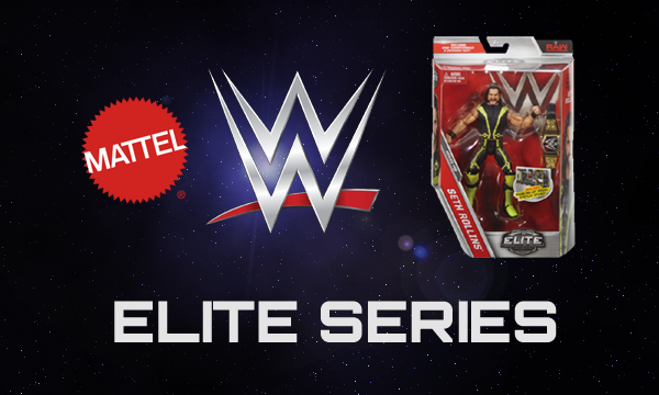 WWE Wrestling figures by Mattel Elite Series